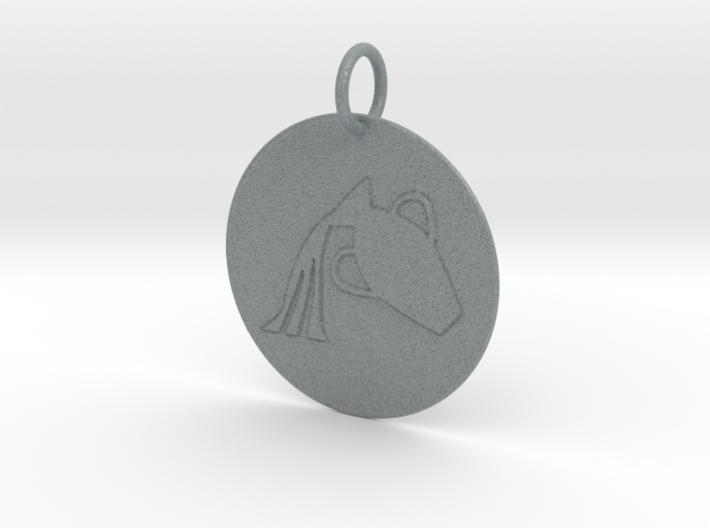 Aquarius Keychain 3d printed