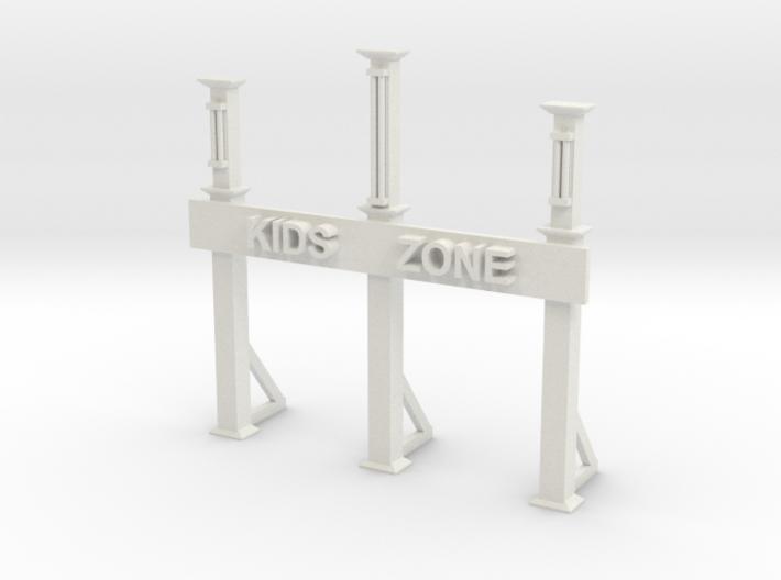 KIDS ENTRANCE GATE 3d printed
