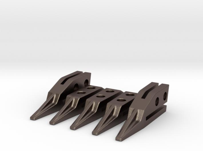 1/14 teeth for bucket excavator or loader 3d printed