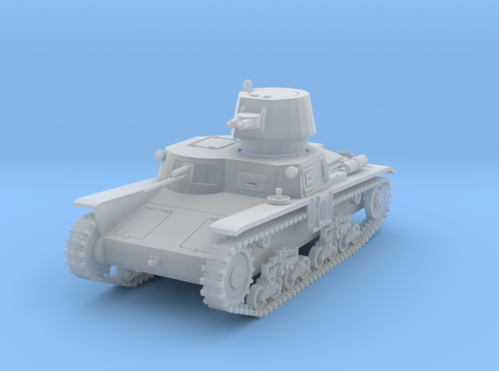 PV102C M11/39 Medium Tank (1/87) 3d printed