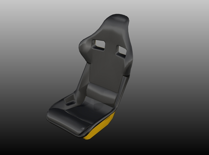 Race Seat F40-Type - 1/10 3d printed