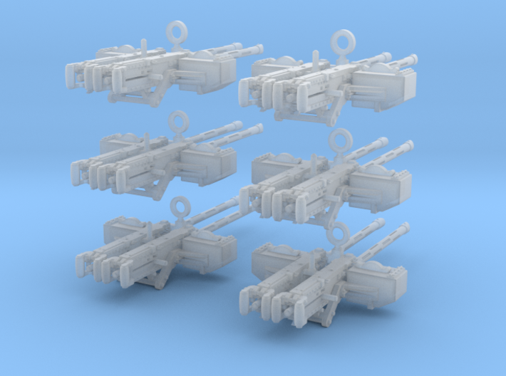 1-32 PT Boat Cal 50 M2 Early Mount Set2 3d printed