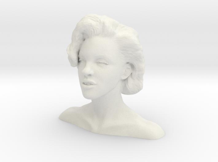 Marilyn Monroe bust 3d printed
