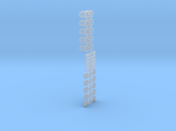 Deckslampen  1:25 - 1:20 3d printed