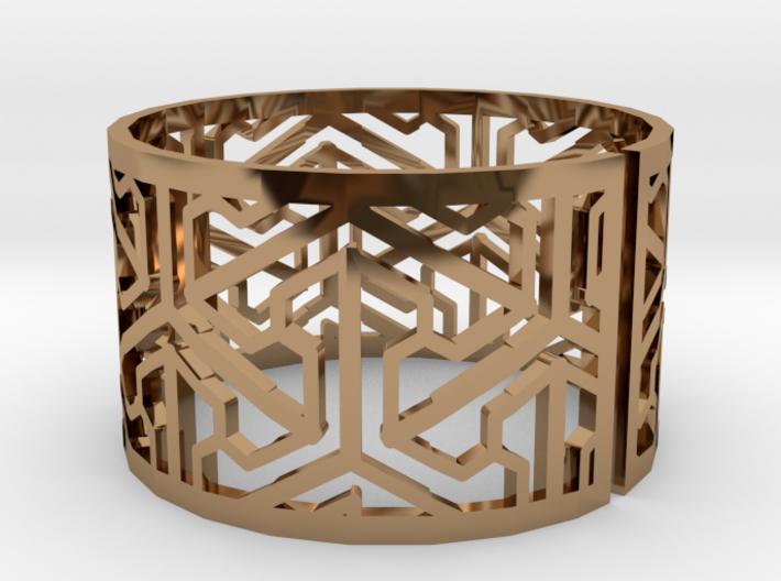 Bracelet AQ (1) 3d printed