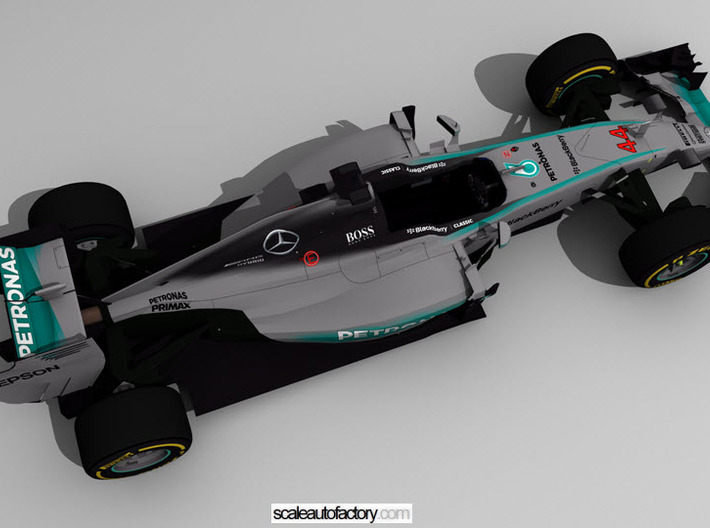Mercedes AMG W06 Scale 1/8 3d printed