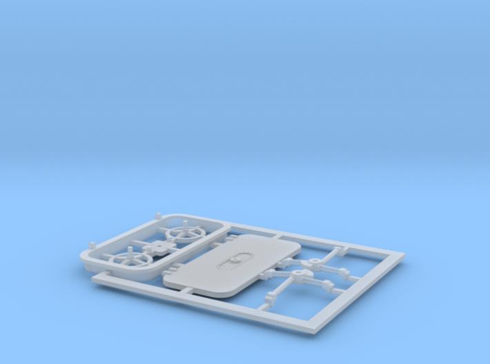 Schott Typ-D in 1:144 3d printed