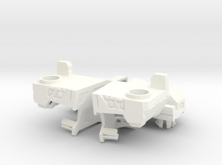 TR PMOP Feet Upgrade Set A 3d printed