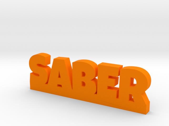 SABER Lucky 3d printed