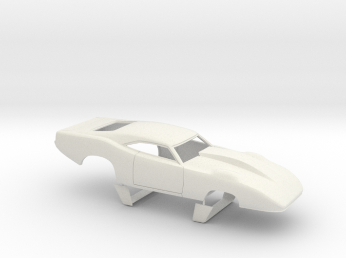 1/12 69 Daytona Pro Mod Smooth Door 3d printed