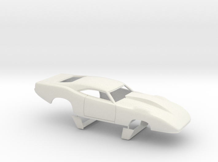 1/18 69 Daytona Pro Mod Smooth Door 3d printed
