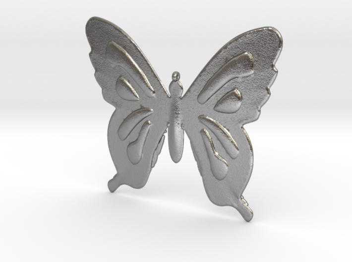Butterfly Necklace 3d printed
