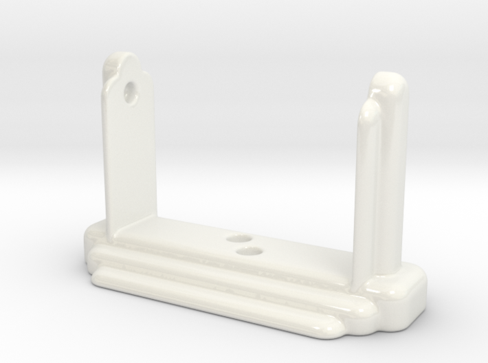 Art Deco Toilet Roll Holder II 3d printed