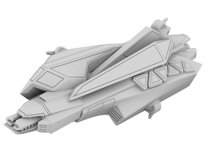 1:700 - Anubis: Stealth Ship_150mm [The Expanse] 3d printed