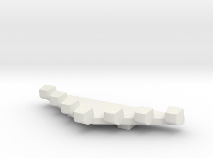1/87 Light Bar #1-vector 3d printed