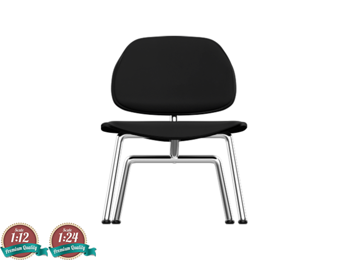 Miniature Eames LCM -  Leather - Charles Eames 3d printed 1:24 Eames LCM - Charles Eames