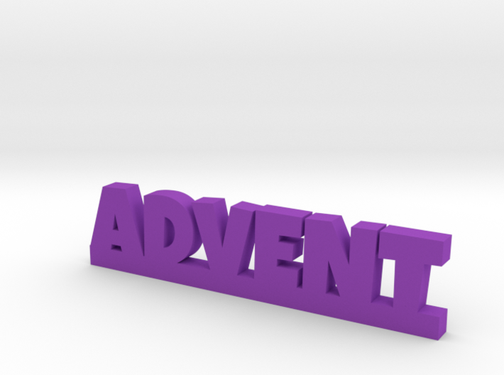ADVENT Lucky 3d printed