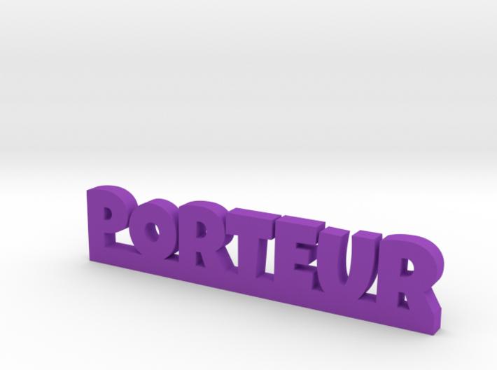 PORTEUR Lucky 3d printed