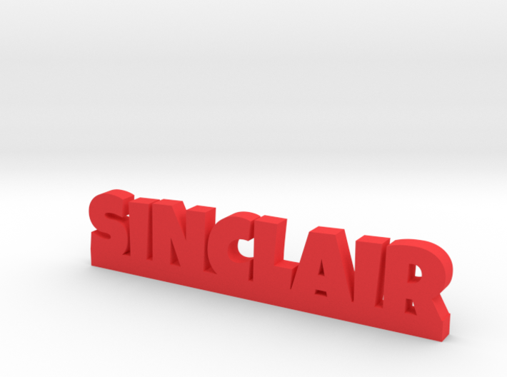 SINCLAIR Lucky 3d printed