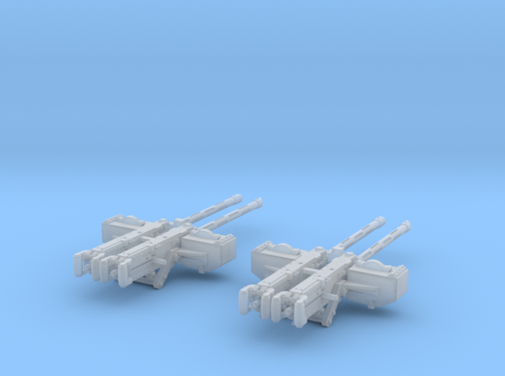 1-24 PT Boat Cal 50 M2 Early Mount Set1 3d printed