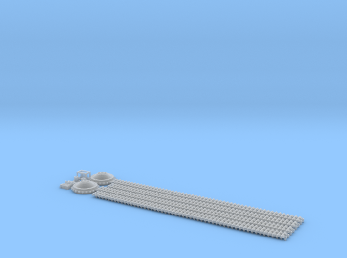 ETS35T01 Hotchkiss H39 Tracks and Sprockets [1:35] 3d printed Content (offical render)