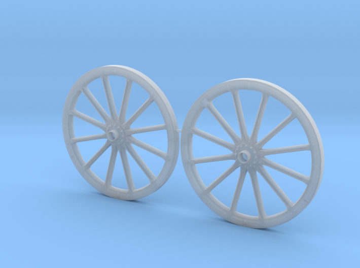 German Protze/Limber/Wagon Wheel set 54mm 3d printed