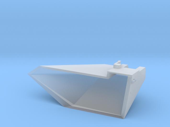 1:200 Scale Nimitz Class Strbd. Fwd. Sponson 3d printed