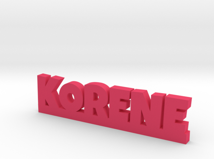 KORENE Lucky 3d printed