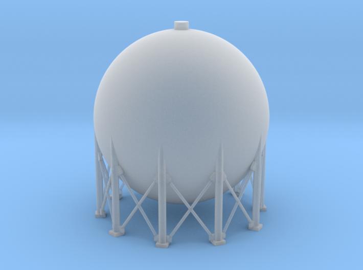 N Scale Spherical Tank 250m3 3d printed