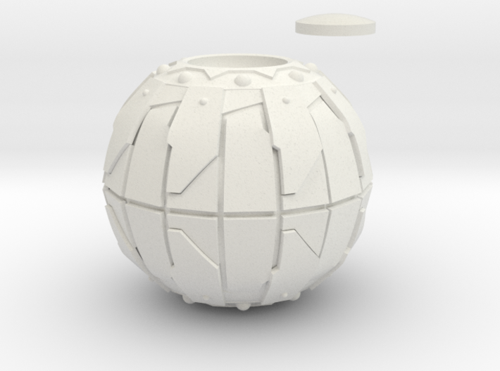 Pumpkin Bomb Actual 4 Inch Diameter 3d printed