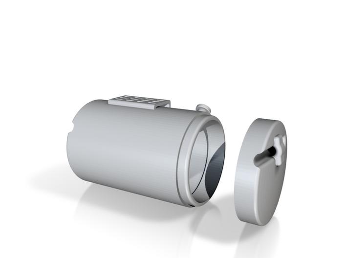Round-fuel-tank-RH 3d printed