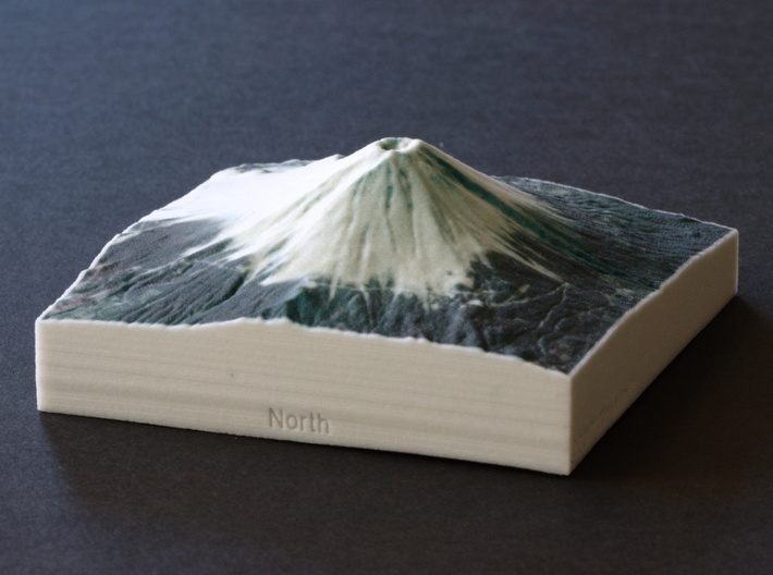 Mt. Fuji, Japan, 1:100000 Explorer 3d printed
