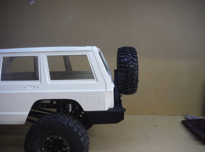XJ Tire Carrier 3d printed