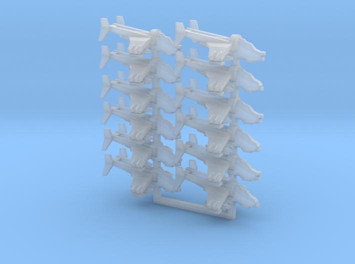[FLEETSCALE] 6x Bunker-Buster Gunship Team 3d printed