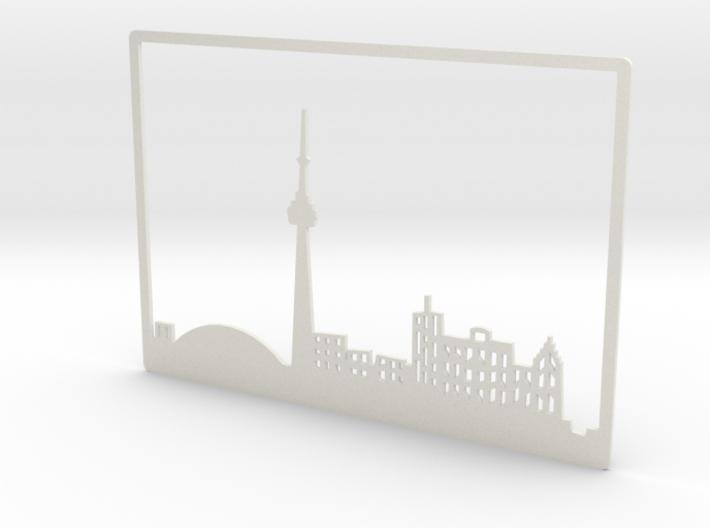 Toronto Skyline - 8 X 11.5 (L) 3d printed