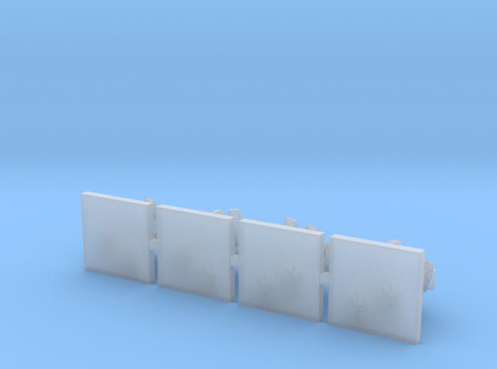 [FLEETSCALE] 4x Scout Walker 3d printed