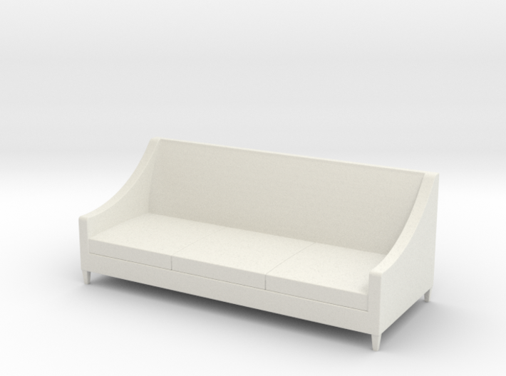 1:24 Simple Sofa 3d printed