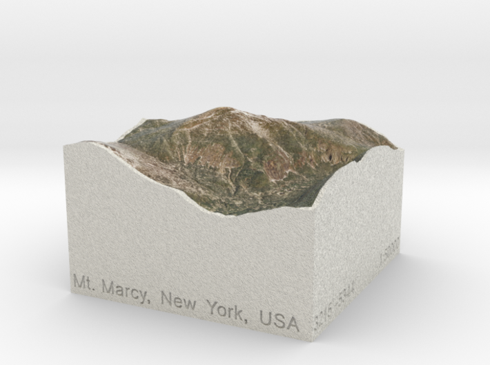 Mt. Marcy, New York, USA, 1:50000 Explorer 3d printed