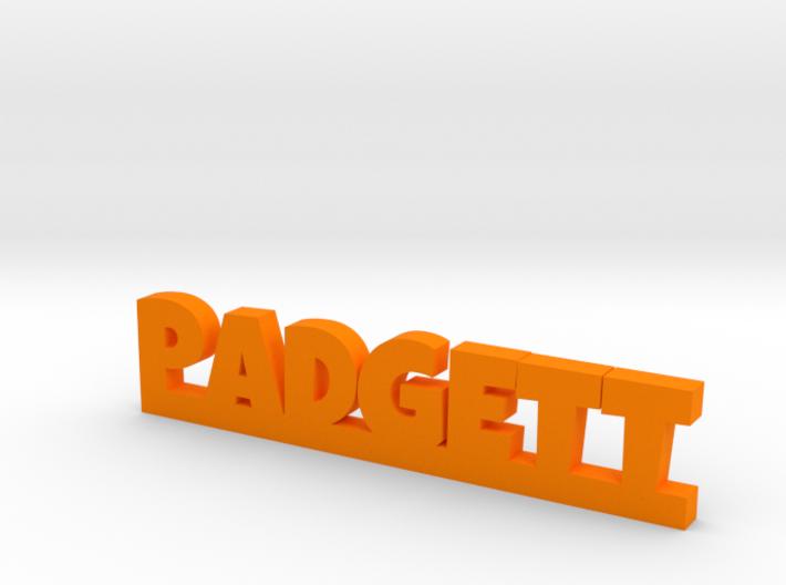 PADGETT Lucky 3d printed