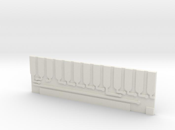 ROTJ V2 - Circuit Board 3d printed