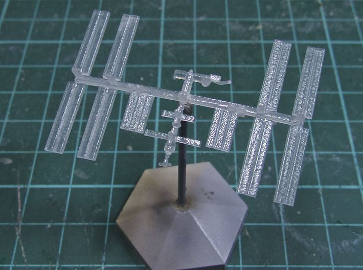1/1000 NASA International Space Station ISS (WSF) 3d printed