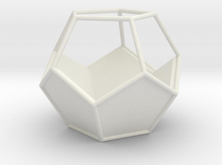 Geometric Terrarium 3d printed
