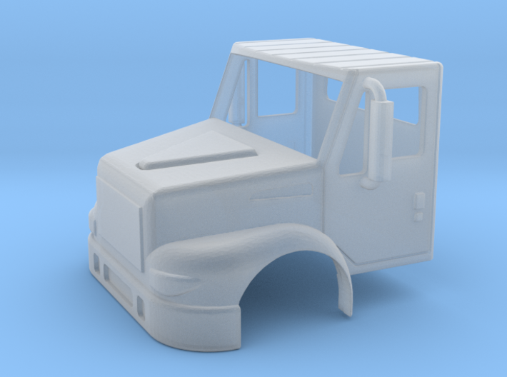 International Day Cab 2 Door 1-87 HO Scale F.U.D.  3d printed