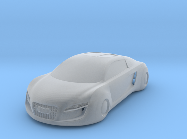 1/43 Audi RSQ Concept Body Shell 3d printed