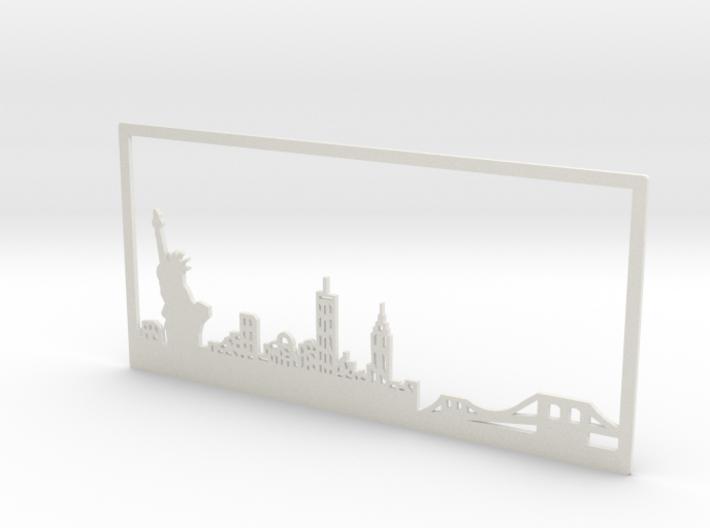 New York Skyline - 11 X 23 (XL) 3d printed