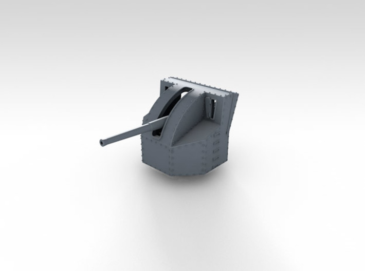 1/700 4.7 Inch /40 (12cm) QF Mark VIII x6 3d printed 3d render showing product detail