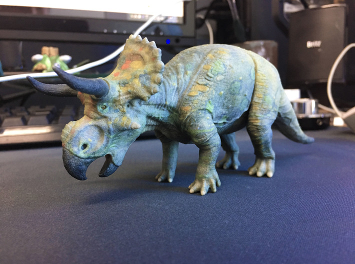 Nasutoceratops middle size (color) 3d printed