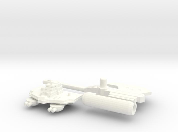 TR: Carrier Kit for Broadside/Tidalwave 3d printed