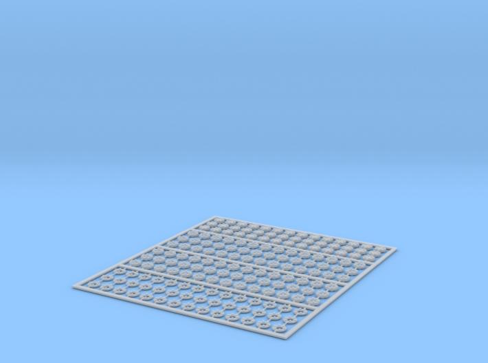 Flanges 3-1.5 6b 4x42st 3d printed