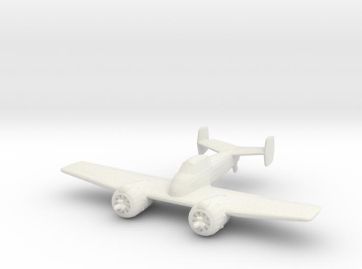 Grumman XF5F 'Skyrocket' 3d printed